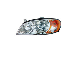 Fits 2002 2004 Kia Spectra Left Driver Side Front Headlight