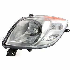 Fits 07 08 Toyota Yaris 2d Hatchback Headlight Headlamp Left Driver Side Halogen