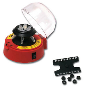 Benchmark Scientific Bsc1006 r Red Mini centrifuge With 2 Rotors