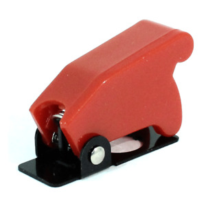 Red Toggle Switch Guard Aircraft Style