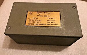 Western Electric 393b Transformer 10 Volts 110 125 Volts New