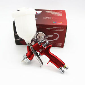 Devilbiss Gfg Pro Hvlp 1 4mm Professional Spray Gun Car Paint 600ml Cup Gravity