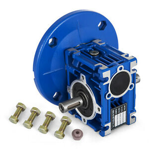 Worm Gear 15 1 63c Speed Reducer Gearbox Dual Output Shaft Unique Active Local