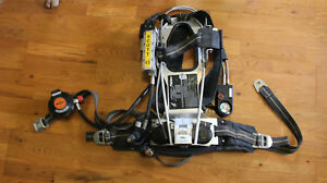 Used Scott 4 5 Ap50 Cbrn 2002 Spec Air Pack Intigrated Pass Scba Harness 9