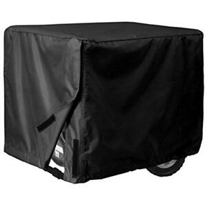 Generator Cover Universal 26 x20 x20 3000 5000 Watt Black Waterproof Uv Protect