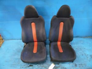 93 97 Honda Del Sol Oem Front Left Right Side Seats Assembly Tracks wear