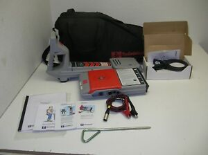 New Radiodetection Rd400 Pdl M Hctx 433 Fault Find Utility Cable Pipe Locator