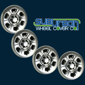 Fits 2005 2018 Nissan Frontier 5933pc 15 Chrome Wheel Skins Hubcaps New Set 4