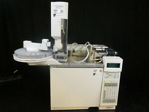Agilent 6890n Network Gc System Choice Of Npd Or Fid