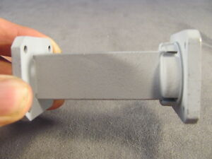 Waveguide Wr 75 10 0 15 0 Ghz Straight 3 00 Smooth Cover X Square Choke 120