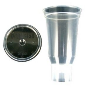 3 Oz Disposable Cup And Lid qty 24 Devdpc 503 k24 Brand New