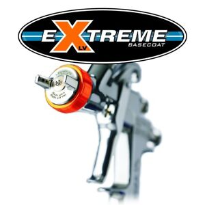 Lph400 134lvx Extreme Basecoat Spray Gun With 700 Ml Cup Iwa5662 Brand New