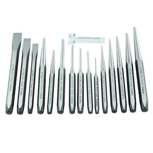 15 Piece Punch And Chisel Set Kti72901 Brand New