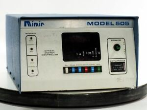 Mimir 505c Optical Energy Controller For 375 Watt Uv Mask Aligner
