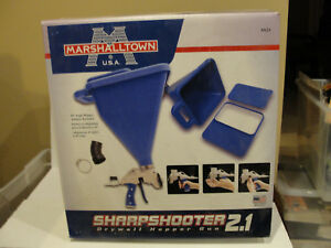 Marshalltown Sharpshooter 2 1 Hopper Gun Drywall Texture Spray Ss21