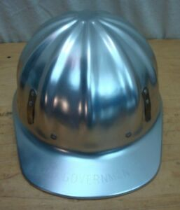 Vtg U s government Superlite Hardhat Fibre Metal Chester Pa Usa W Tags And Liner