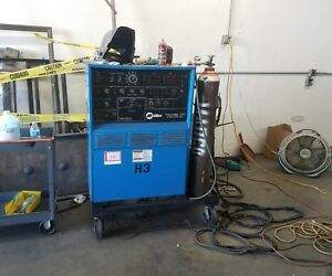 Miller Syncrowave 350 Water Cooled Comes Complete With Custom Cart Tig Welder