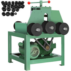 Electric Pipe Tube Bender 9 Round And 8 Square Protable Roller Round 1400rpm