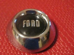 Original 1954 Ford Steering Wheel Horn Button