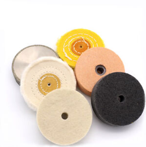 3 Inch Various Materials Polishing Wheel Buffing Sanding Pad For Bench Grinder