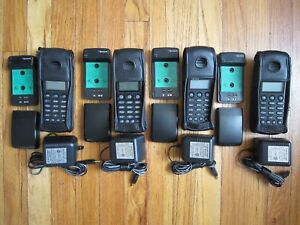 4 Lot Of Spectralink Polycom Ptb410 Wireless Phone W Battery Charger
