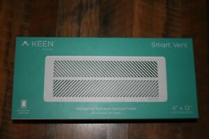 Keen Home Smart Vent 4 X 12 New In Box Kt01 412 001