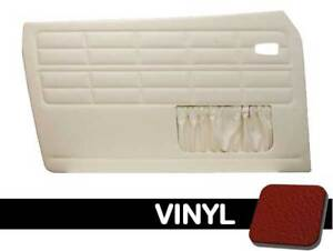 1964 1974 Vw Ghia Convertible Front Only Door Panels W Pockets message Color