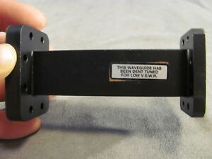 Waveguide X band Wr90 8 20 12 4 Ghz Straight 4 00 Cprg X Cprf