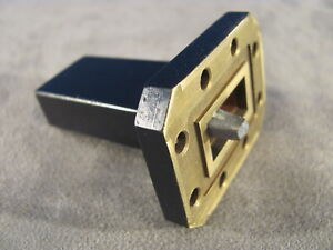 Waveguide Wr75 Low Power Termination Ku band 10 To 15 Ghz length 2