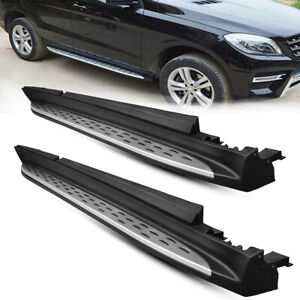 For Benz Ml350 Ml Class W166 12 15 Gle350 Gle400 16 17 Running Board Side Step