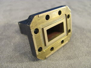Waveguide Wr75 Low Power Termination Ku band 10 To 15 Ghz length 1 50