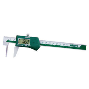Insize Electronic Digital Tube Thickness Caliper 0 6 0 150mm 1161 150a