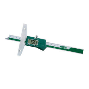 Insize Electronic Digital Depth Gauge 0 12 0 300mm 1147 300