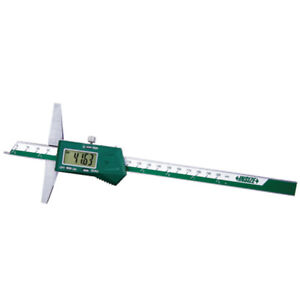 Insize Electronic Digital Point Depth Gauge 0 8 0 200mm 1143 200a