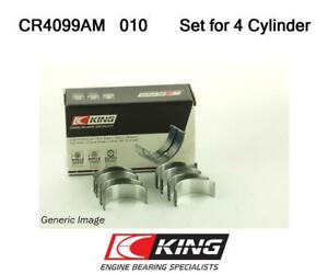 Conrod Bigend Bearings 010inch For Premier Saab 124 Spider 124 128 128 Coupe