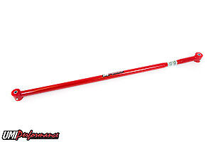 Umi Performance 2005 2014 Ford Mustang On Car Adjustable Pan Hard Bar Red