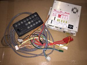 Whelen Cencom Amplifier Relay System With Ta Module And Control Head Ccsrn