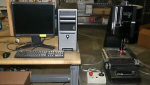 1 Used Micro vu Model M301119 Video Measuring System 15950