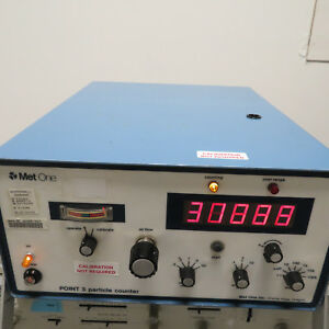 Met One Laser Particle Counter P35 1 1