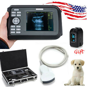 Us Veterinary Mini Portable Digital Palm Ultrasound Scanner Machine Covex Probe