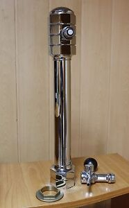 New Beer Tap Faucet Draft Single Lines Chrome Tower Keg Kegerator Luxembourg