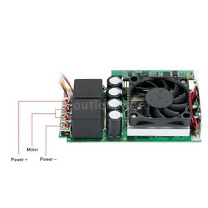 10 30v 100a 3000w Dc Motor Adjustable Speed Controller Pwm Control Us Stock F8g7