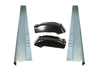 Extended Cab Rocker Panels And Cab Corners For Chevy Silverado Gmc Sierra 99 07