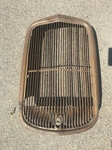 1933 Ford Pick Up Truck And Big Truck Radiator Grill Shell Very Nice