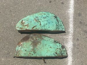 1939 1940 1941 Chevrolet Chevy Ford Tear Drop Bubble Fender Skirt Gm Accessory