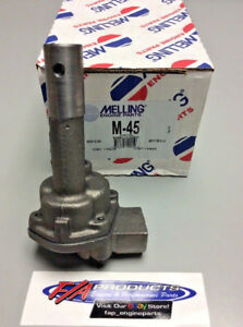 Chevy 235 261 1954 Through 1962 6 Cylinder Engines Oil Pump stock Melling M 45