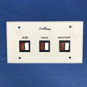 Air Techniques Dental Air Water Vacuum Remote Control Switch Panel