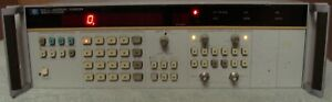 Hp Agilent Keysight 5335a Universal Counter W Option 040 Nist Calibrated