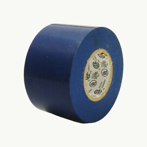 Jvcc E tape Colored Electrical Tape 2 In X 66 Ft blue