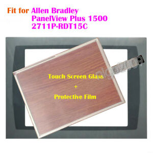 New Touch Screen Panel Film For Allen Bradley Panelview Plus 1500 2711p rdt15c